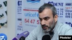 Жирайр Сефилян на пресс-конференции, Ереван, 11 февраля 2015 г.