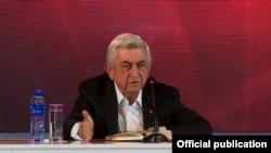Третий президент Армении Серж Саргсян