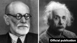 Sigmund Freud və Albert Einstein