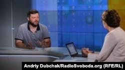 Олександр Корнієнко в ефірі «Суботнього інтерв'ю»