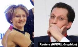 Катерина Тихонова и Кирилл Шамалов