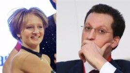 Катерина Тихонова и ее муж Кирилл Шамалов