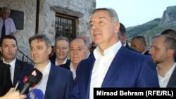 Denis Zvizdić i Milo Đukanović u Mostaru, foto: Mirsad Behram