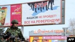 Militar rus la Sevastopol, 19 martie 2014.