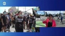 Погромы в Лос-Анджелесе: репортаж с места событий