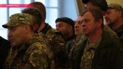 Деньги вместо земли: пикет военных под ратушей Львова закончился сделкой с властями