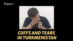 In Cuffs And In Tears: Turkmen President Shames Minister For Alleged Corruption