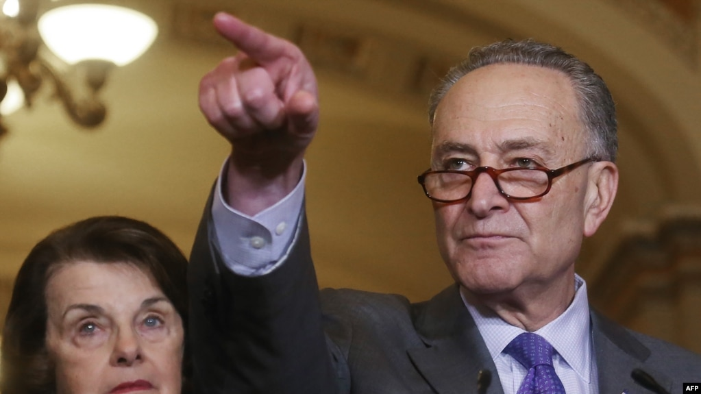 U.S. Senate Minority Leader Chuck Schumer (file photo)