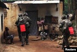 В ЦАР постоянно находится французский воинский контингент, ведущий борьбу с местными исламистскими группировками
