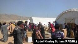 Տարհանված եզդիների ճամբար Իրաքում, արխիվ