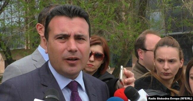 SDSM leader Zoran Zaev