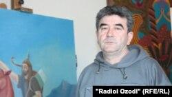 Фаррух Хоҷаев - роҳбари Иттиҳодияи рассомони Тоҷикистон