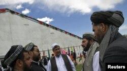 Кабул -- Жалпы элдик жыйындын - лойа жырганын делегаттары.