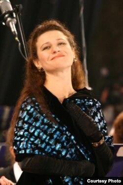 Вікторія Лук'янець, фото з родинного архіву