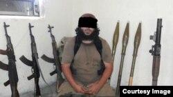 Узбекский боевик, воюющий в рядах «ИГИЛ» в Ираке.