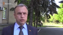 Александр Воробьев о взрыве в Геническе (видео)