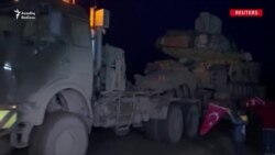 Türkiyə Suriya sərhədinə tank və əlavə canlı qüvvələr yeridir