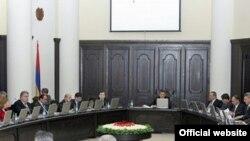 Армения - Заседание правительства