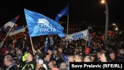 Proteste la Podgorica
