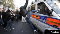 Од минатогодишните студентски протести во Лондон.