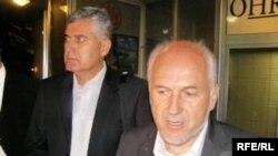 Inzko i Čović nakon sastanka u Mostaru, Foto: Tina Jelin