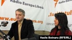 Petru Macovei și Irina Lazur, (Asociația Presei Independente)