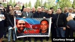 Foto nga arkivi - Protestat për lirimin e të burgosurve politikë në Azerbajxhan