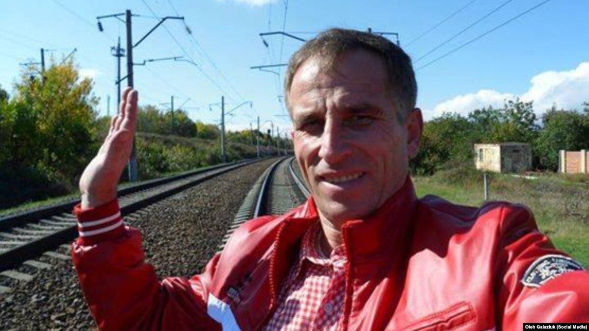Автор Радио Свобода Олег Галазюк есть среди освобожденных заложников «ДНР»