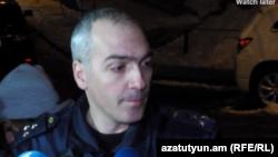 Начальник главного управления по расследованию особо важных дел Следственного комитета Армении Артур Меликян, 17 января 2020 г.