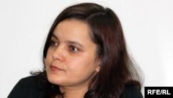 «Комета-S» баспасының директоры Юлия Козлова. Алматы, 9 қараша, 2009 жыл.
