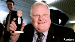 Роб Форд, Торонто мэрі, Канада.