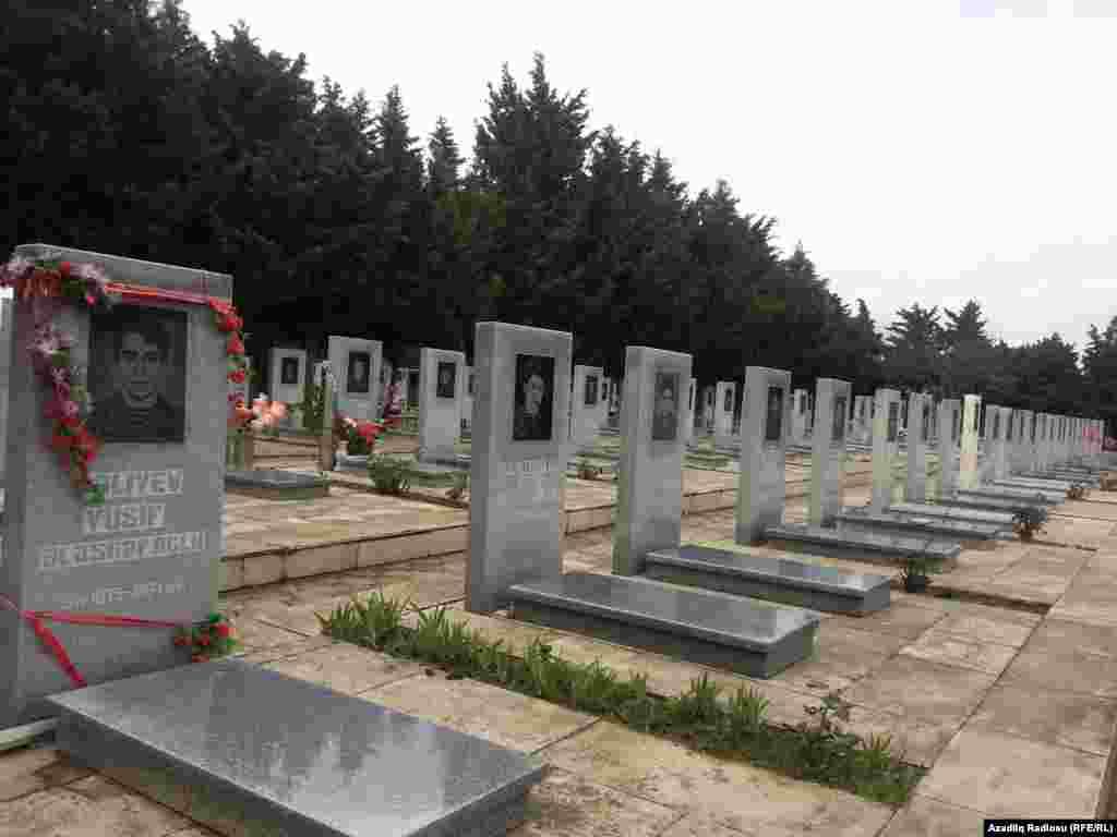 1993-cü ildekabrından başlayan yanvarın 6-dək davam edən Horadizəməliyyatında döyüşənlərin məzarı