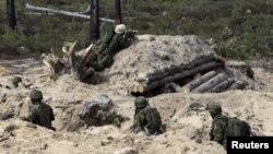 Էստոնիա - Էստոնացի զինծառայողները մասնակցում են ՆԱՏՕ-ի զորավարժություններին, մայիս, 2015թ․