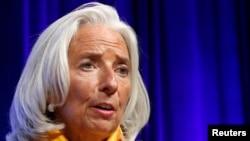 Директор Международного валютного фонда Кристин Лагард.