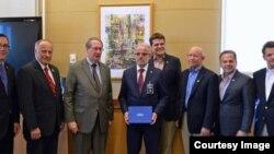 Delegacija američkog Kongresa sastala se sa predsednikom Sobranja Taljatom Džaferijem