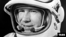 Historians say Aleksei Leonov, the first man to walk in space, was also chosen to be the first cosmonaut to land on the moon.