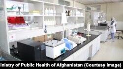 آرشیف: یک آزمایشگاه ویروس کرونا در افغانستان