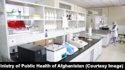 رابراتوار مبارزه با ویروس کرونا در کابل
