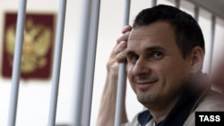 Олег Сенцов в суді, 26 грудня, 2014 року