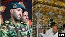 چپ: عباس عبداللهی، راست: علی سلطانمرادی