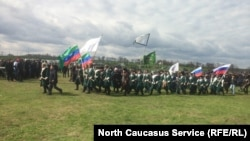Спортивный фестиваль в честь муфтия Дагестана. Село Дылым, Казбековский район, 15 апреля 2018 г.
