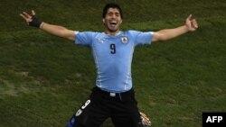 Բրազիլիա - Ուրուգվայցի Լուիս Սուարեսը Անգլիայի հավաքականին խփած երկրորդ գոլից հետո, Սան Պաուլո, 19-ը հունիսի, 2014թ․