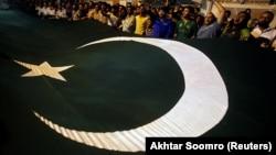 Flamuri i Pakistanit.