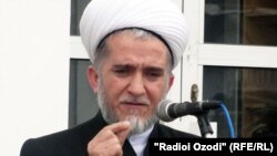 Председатель Совета улемов Таджикистана Саидмукаррам Абдулкодирзода