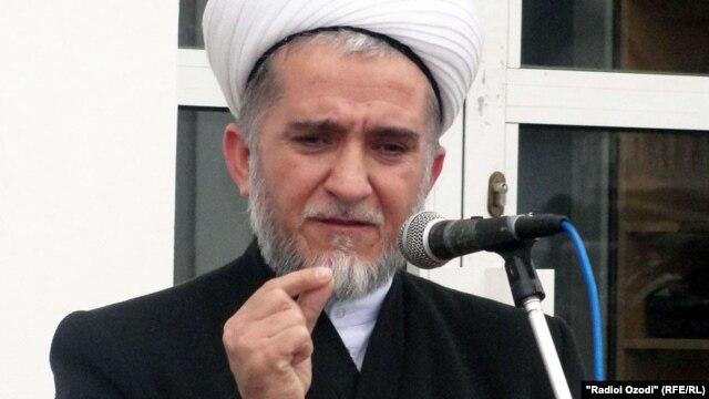 Tajikistan's chief mufti Saidmukarram Abdulkodirzoda