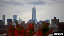 Pamje nga Menhetëni në Nju Jork