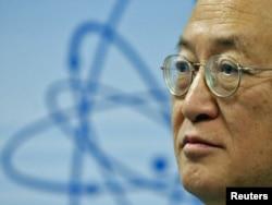Halkara atom energiýasy gullugynyň (HAEG) başlygy Ýukia Amano