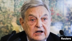 Америкалик 82 ёшли миллиардер Жорж Сорос.