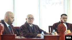 Седница на Уставен суд на Република Македонија.