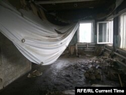 В доме Алексея Башинского после наводнения. Фото: личный архив